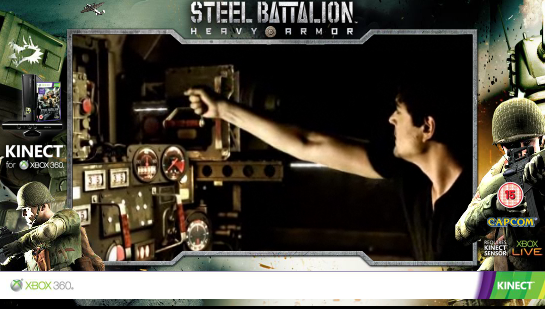 Steel Battalion launches low-tech mecha Kinect game